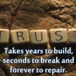 Your Reservoir of Trust