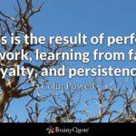 Hard Work and Failure
